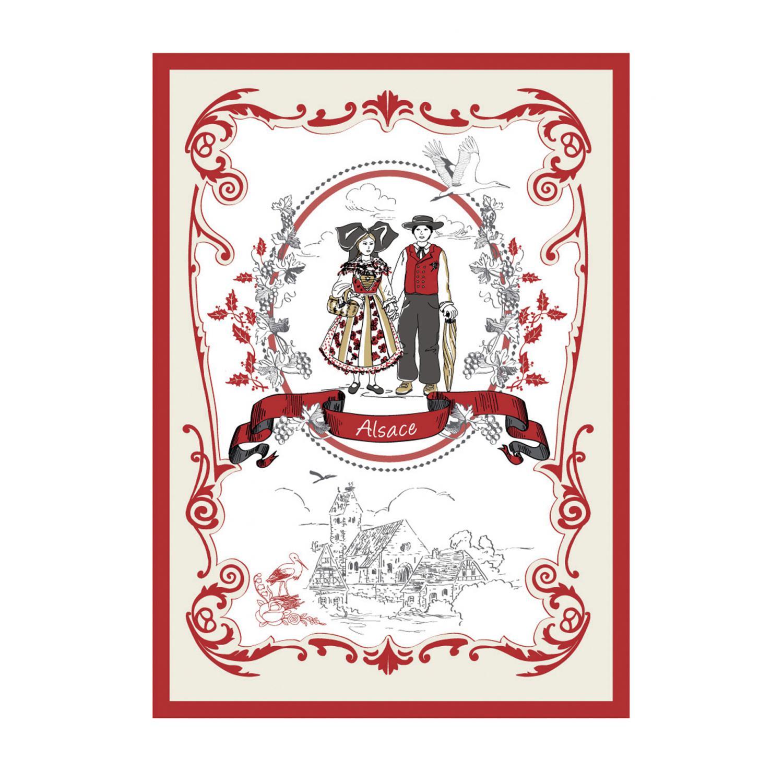 Torchon Tipisch Blanc 70 x 50