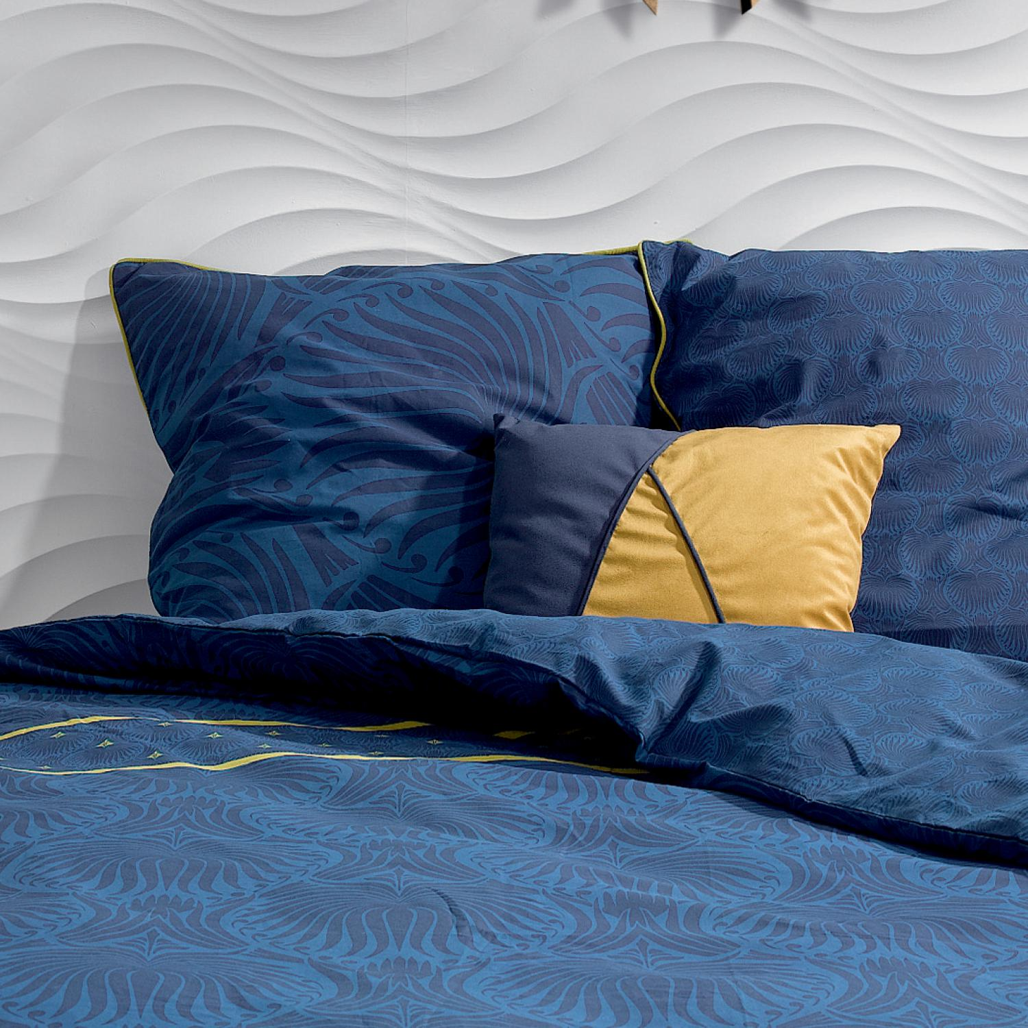 Coussin Velto Patch Gold 40 x 40