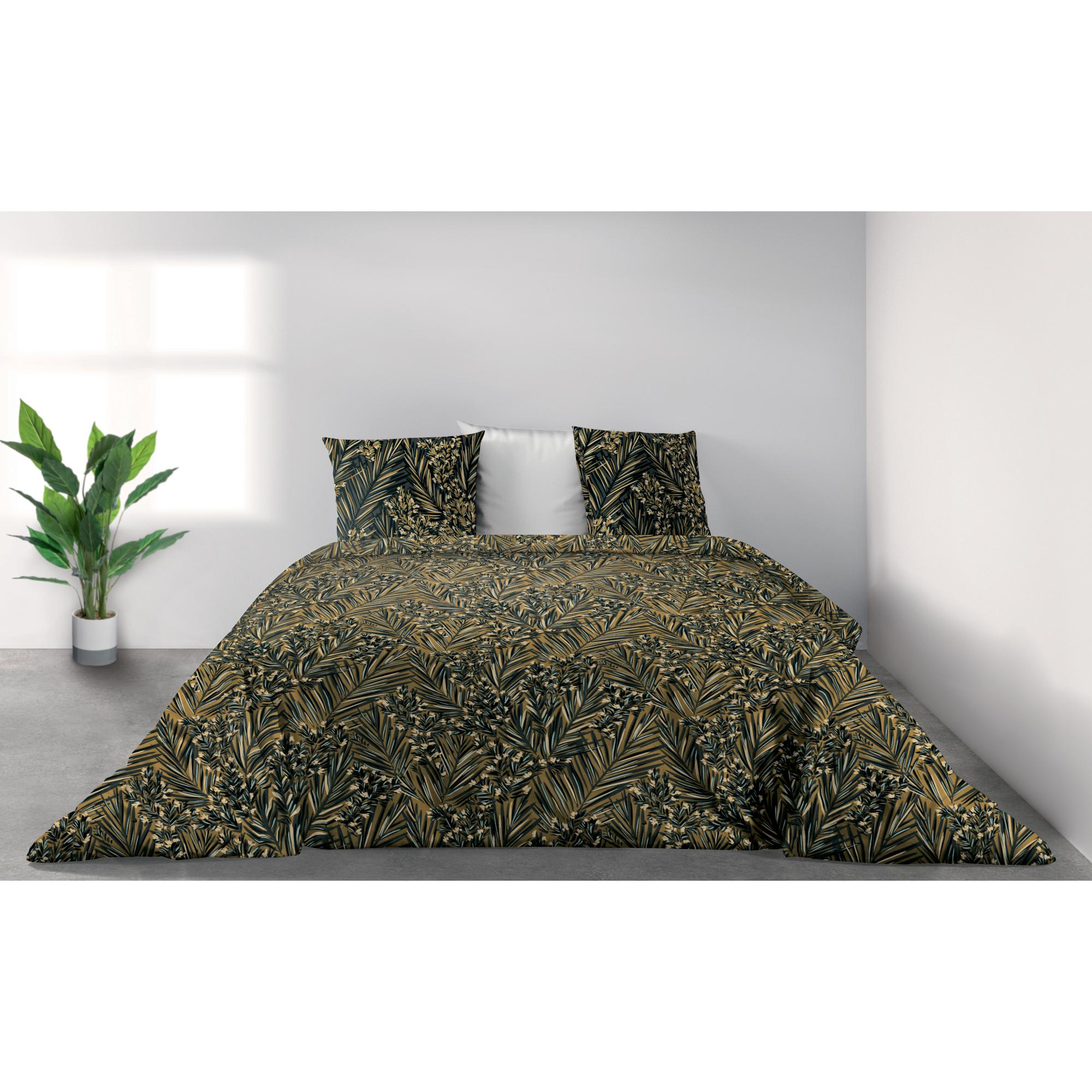 Parure de lit Bio 2 personnes Nava avec housse de couette et taies d'oreiller Imprimé 260 x 240