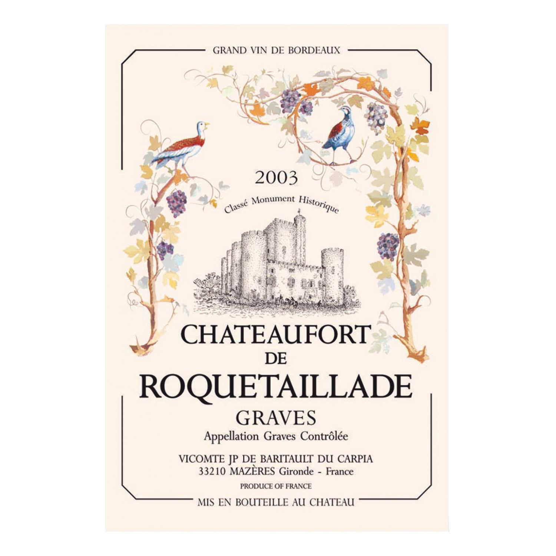 Torchon Chateau de Roquetaillade
