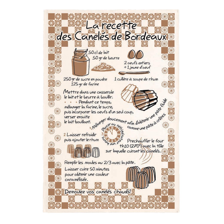 Torchon Canele de Bordeaux