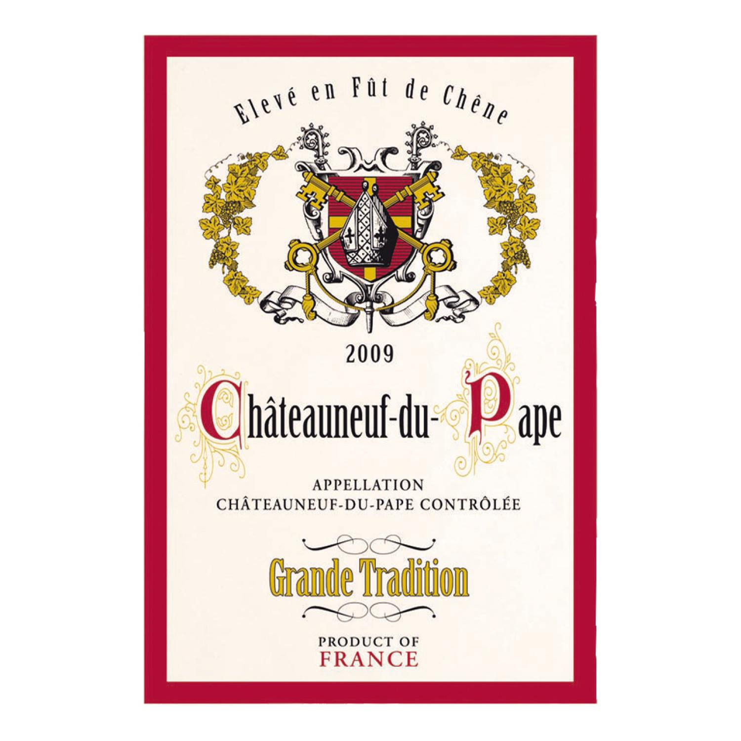 Torchon Chateau Neuf Gde Tradition